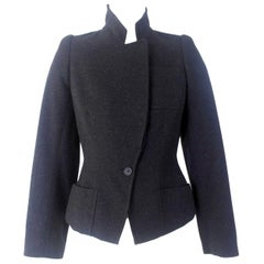 Alexander McQueen Vintage Black Wool and Cashmere Jacket