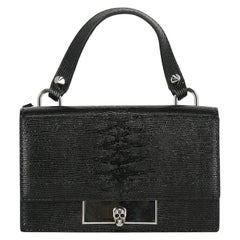 Alexander Mcqueen Woman Handbag Black Leather