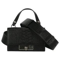 Alexander Mcqueen Woman Handbag Black Leather
