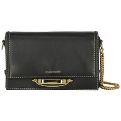 Alexander Mcqueen Woman Shoulder bag Black Leather