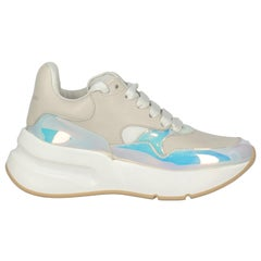 Alexander Mcqueen Woman Sneakers Beige Leather IT 36.5