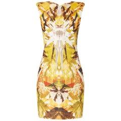 Alexander McQueen, Yellow print dress, Spring/Summer 2009