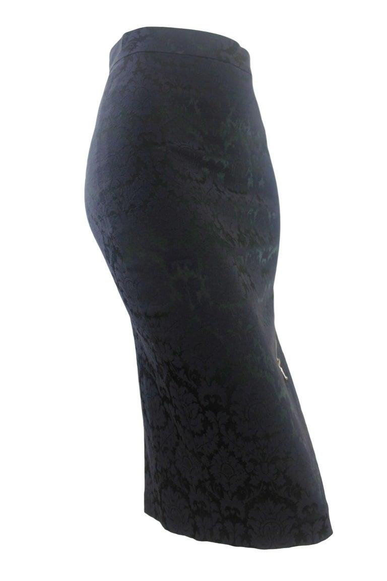 Alexander McQueen Zipper Skirt 1997 Collection For Sale 6