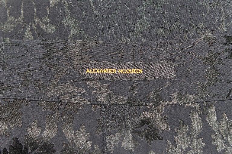 Alexander McQueen Zipper Skirt 1997 Collection For Sale 7