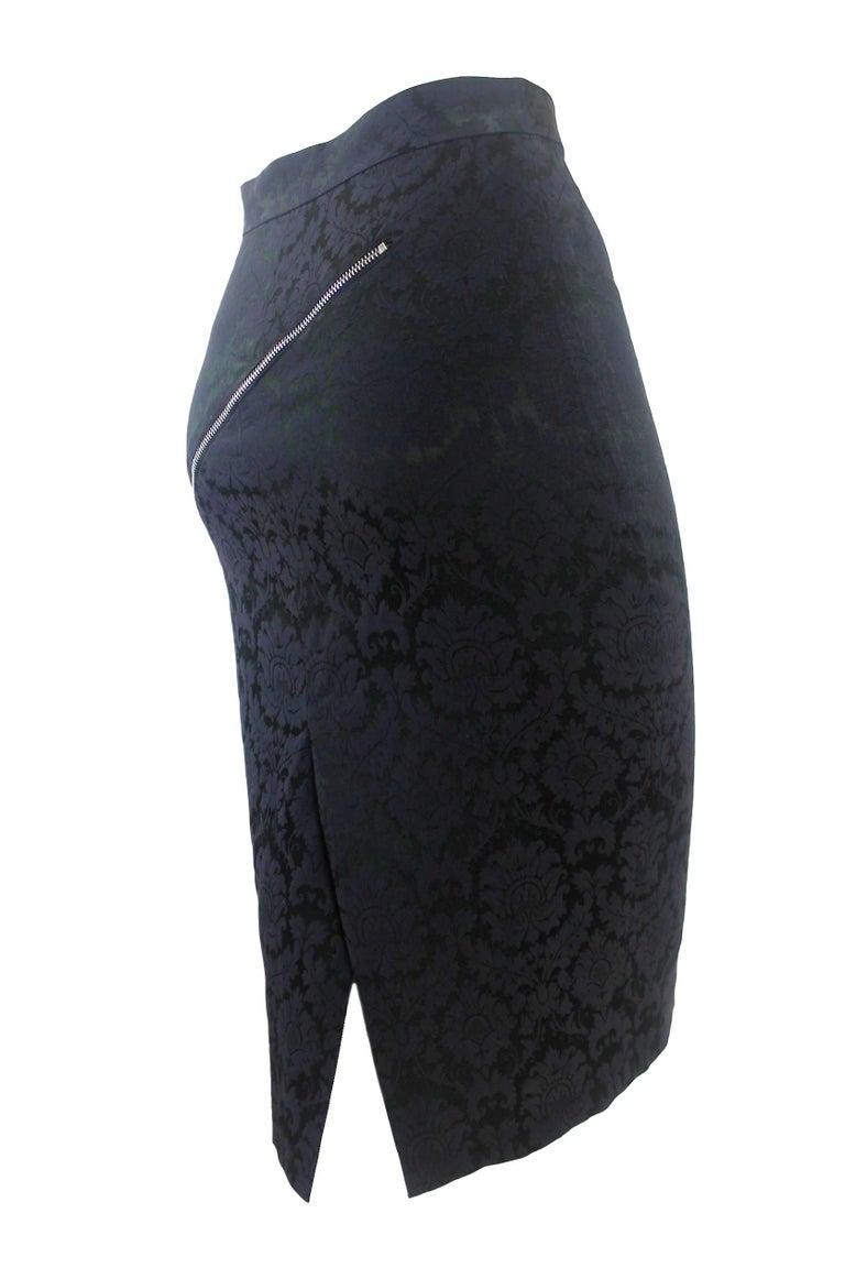 Alexander McQueen Zipper Skirt 1997 Collection For Sale 3