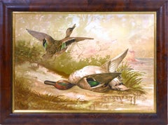 Alexander Pope, Chromolithograph of Ducks.
