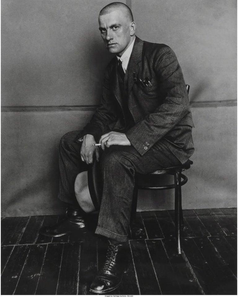 Portrait of Vladimir Mayakovsky