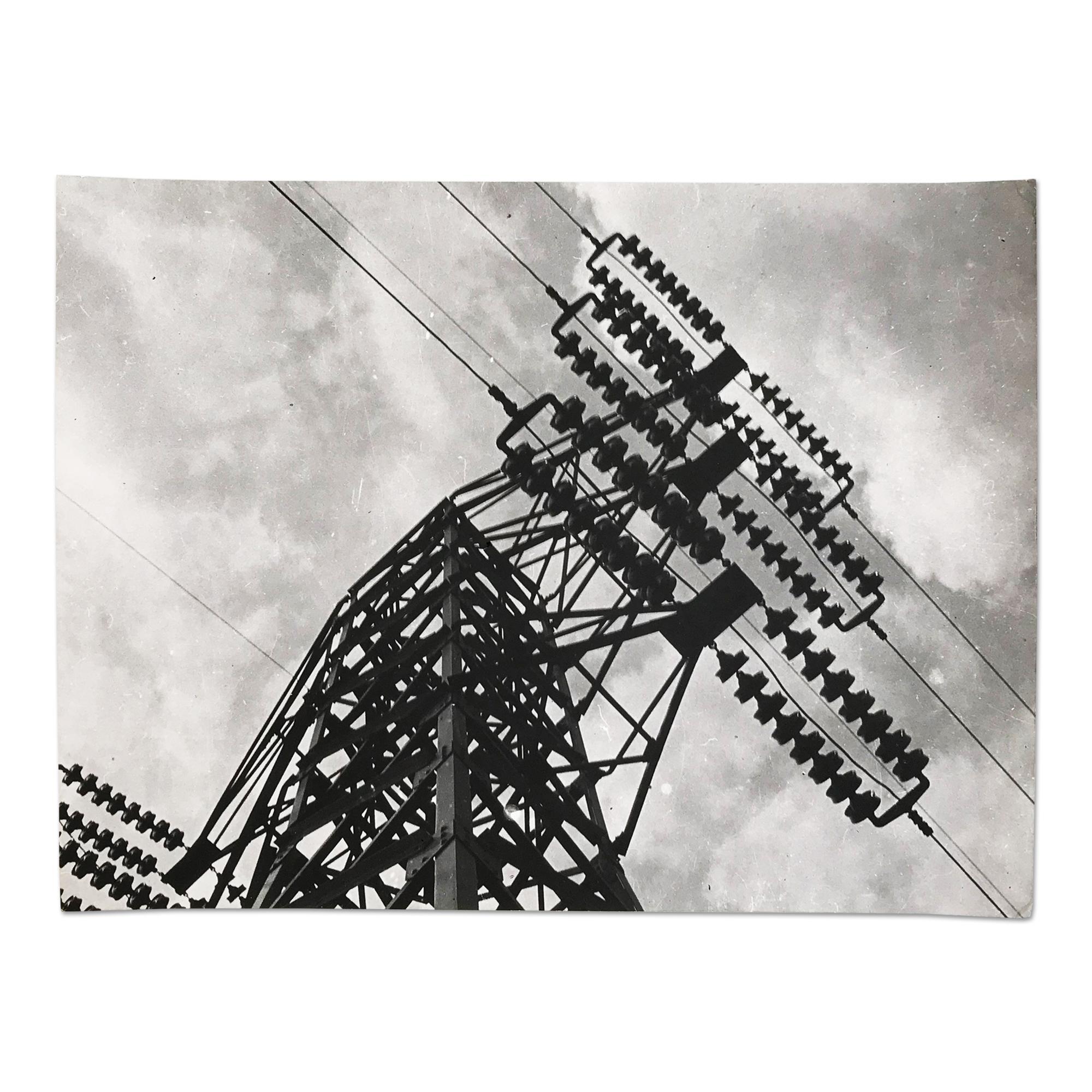 Pylon, Silver Gelatin Print, Constructivism, Modern Art, 20th Century