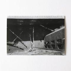 The Yard, Silver Gelatin Print, Constructivism, Modern Art, 20th Century