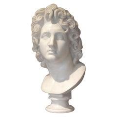 Alexander the Great, Carlo Albacini Italian Marble Neoclassical Mythological