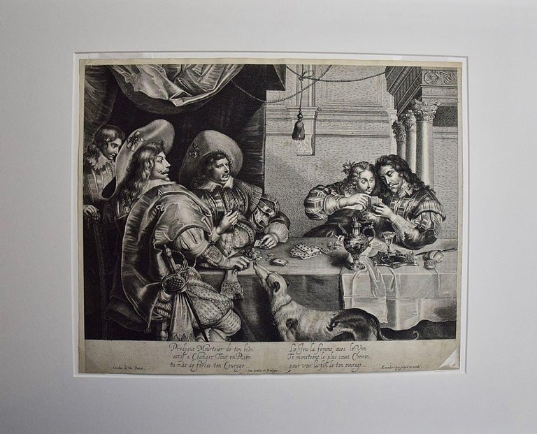 An Early 17th Century Engraving