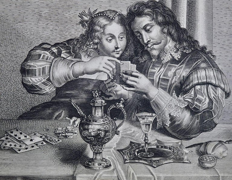 A 17th century engraving entitled