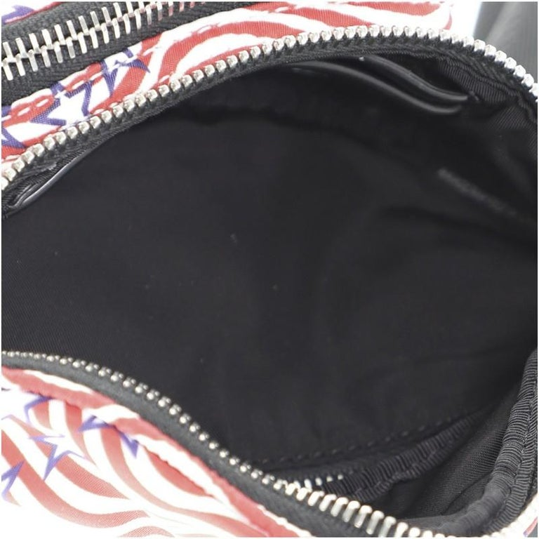 Women's or Men's Alexander Wang Attica Waist Bag Printed Nylon Mini For Sale