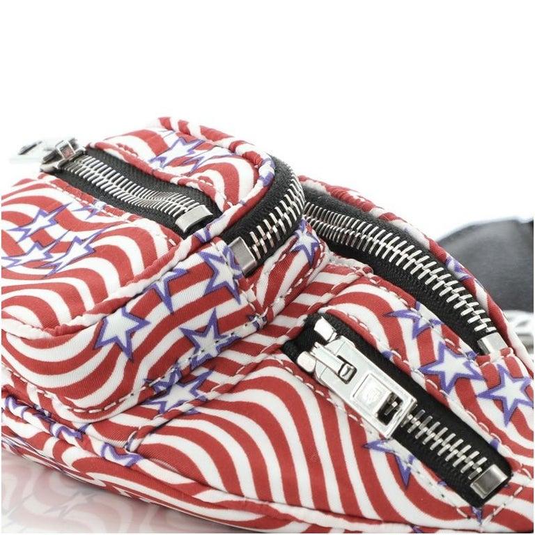 Alexander Wang Attica Waist Bag Printed Nylon Mini For Sale 2