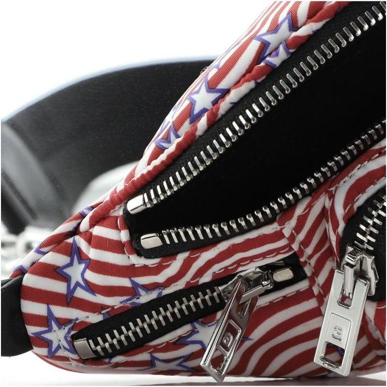 Alexander Wang Attica Waist Bag Printed Nylon Mini For Sale 3