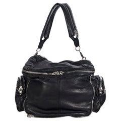 Alexander Wang Black Leather Jane Shoulder Bag
