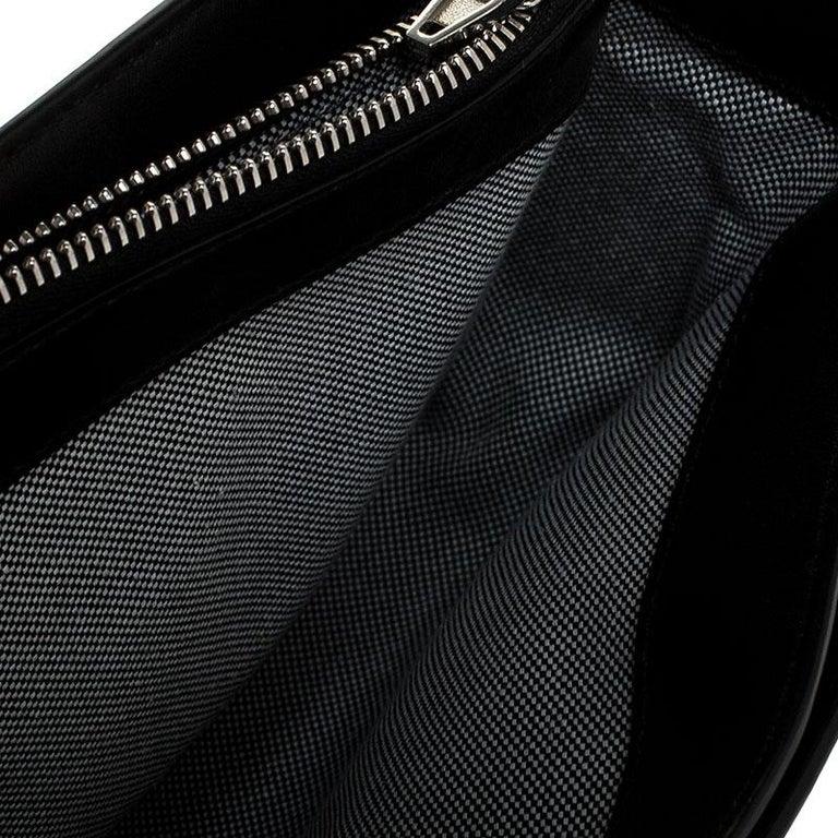 Alexander Wang Black Leather Small Prisma Envelope Crossbody Bag For Sale 3