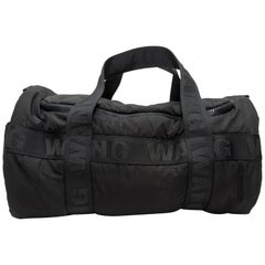 Alexander Wang Black Nylon Duffel Bag