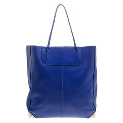Alexander Wang Blue Leather Prisma Tote