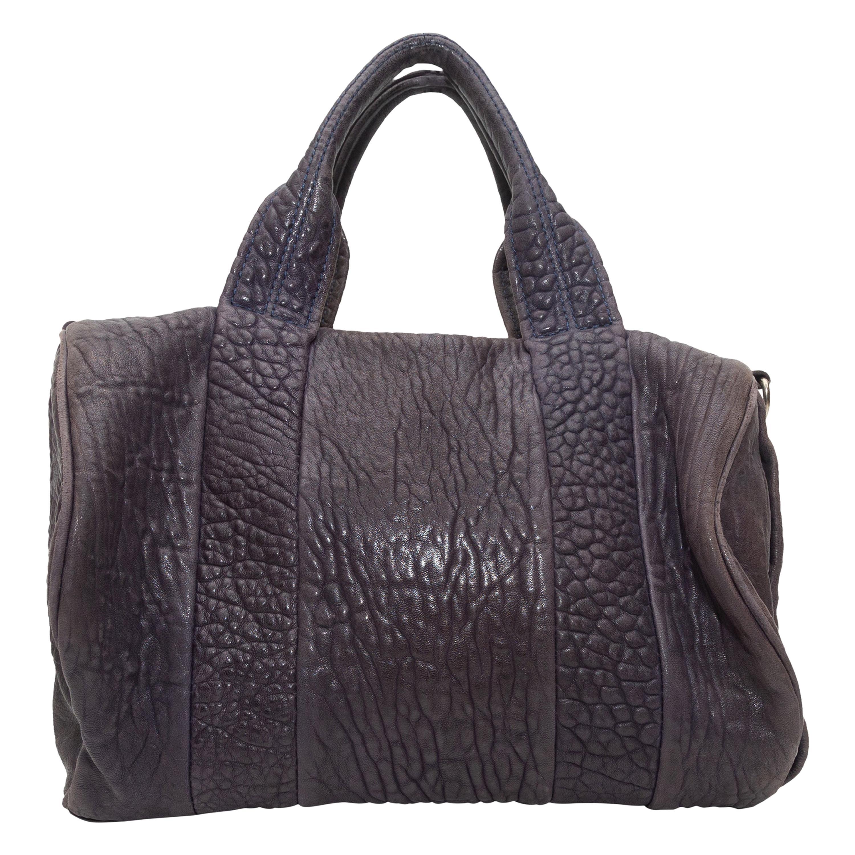 Alexander Wang Brown Rocco Leather Duffel Bag