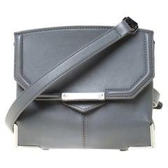 Alexander Wang Grey Leather Small Marion Shoulder Bag