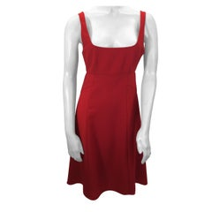 Alexander Wang Red Cut Out Dress NWT