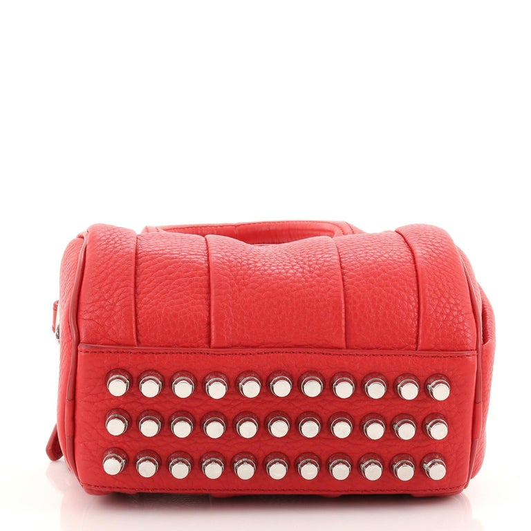 Alexander Wang Rockie Satchel Leather Mini In Good Condition For Sale In New York, NY