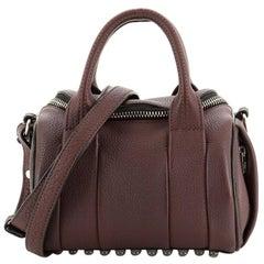 Alexander Wang Rockie Satchel Leather Mini