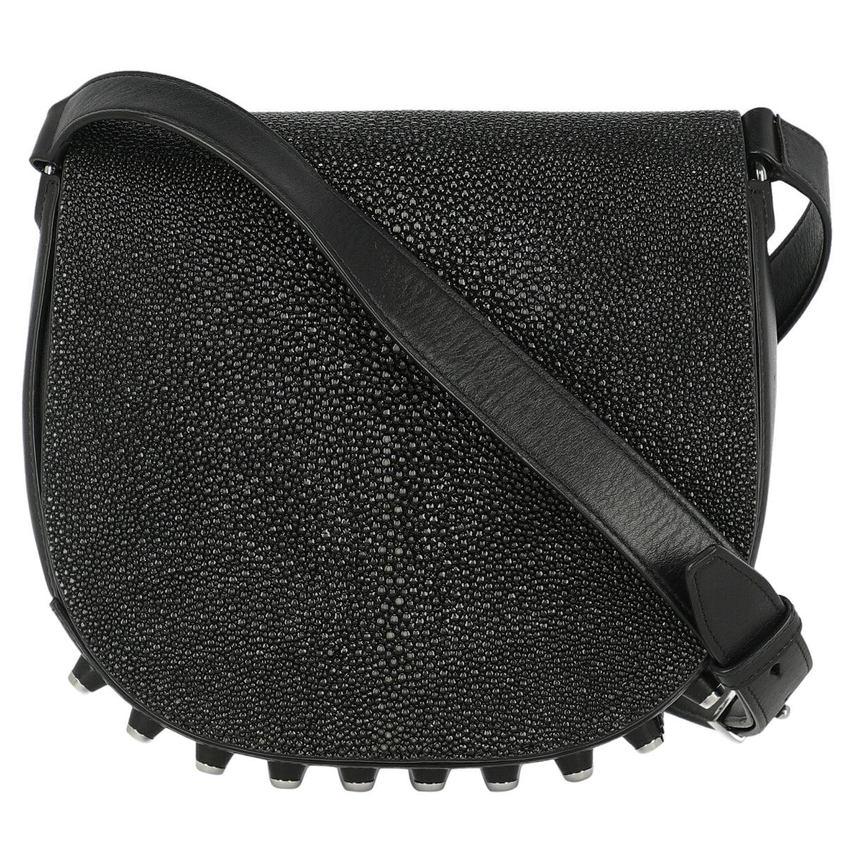 Alexander Wang Woman Shoulder bag  Black Leather