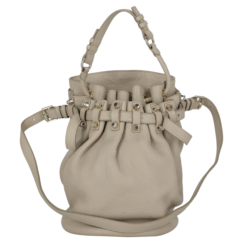 Alexander Wang Women  Shoulder bags Diego Beige Leather