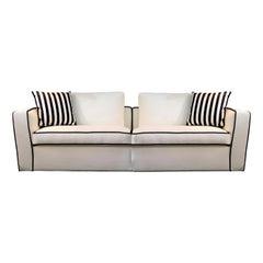Alexander White Sofa by Dom Edizioni