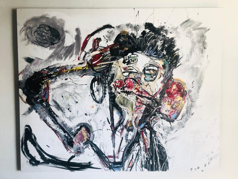 Untitled painting 36'x48 inch by Alexander Yulish For Sale 1