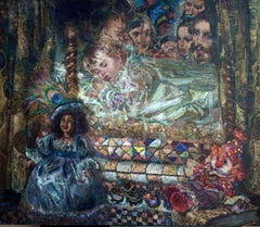The Princess and the Pea - Green White Brown Grey Purple Blue Yellow