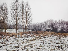 Alexandra Buckle, A light flurry, Limited edition landscape print