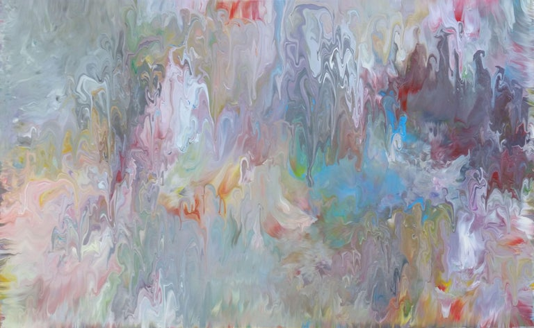 Alexandra Romano Abstract Painting - Divine Mother  48 x 30 IN, Painting, Acrylic on Canvas