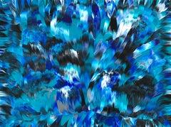 "Sub-Zero  24"" x 18"", Painting, Acrylic on Canvas"