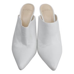 Alexandre Birman White Leather Size 39.5 Pumps