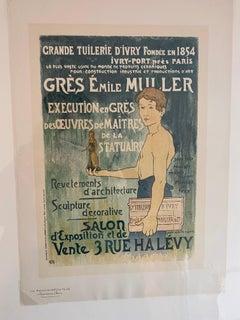 """""""Grande Tuilerie d'Ivry"""" from Les Maitres de l'Affiche"""