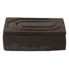 Alexandre Noll Style Carved Wood Box