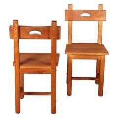 Alexandre Noll Style Pair of Chairs