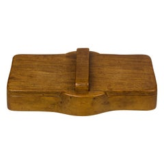 Alexandre Noll, Wood Box, circa 1960, France