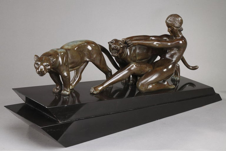Alexandre Ouline, Woman with Panthers For Sale 3