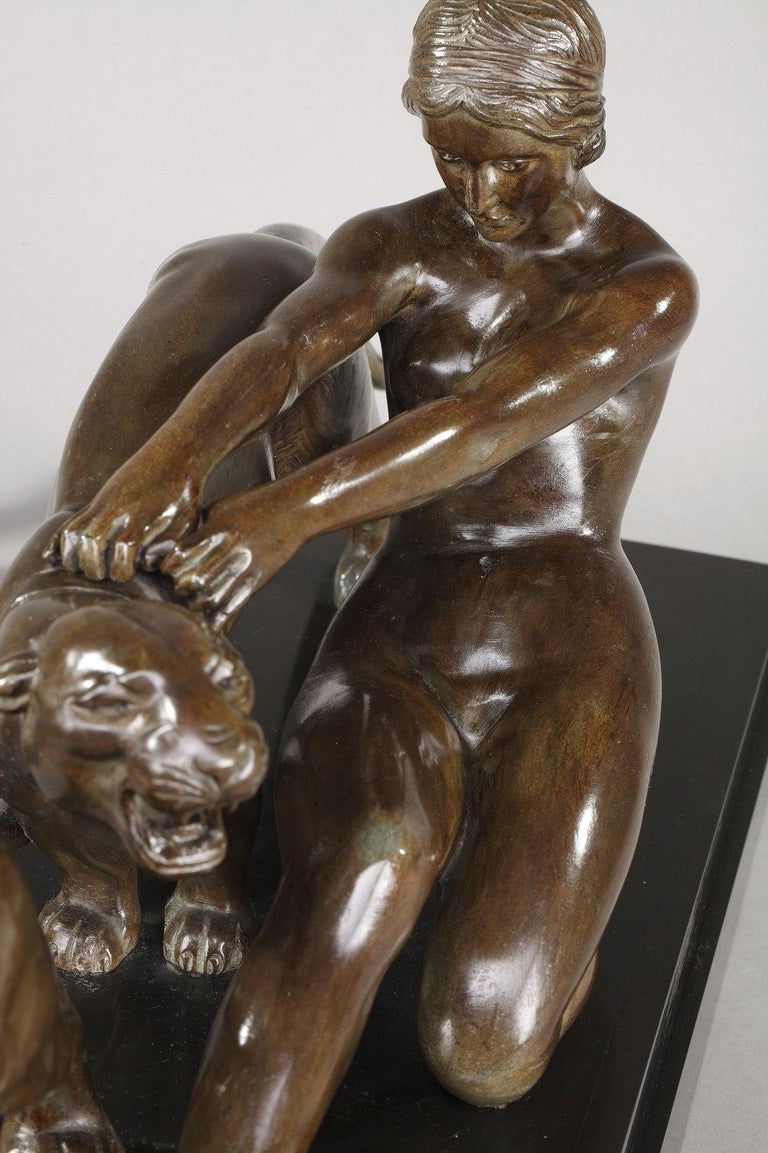 Alexandre Ouline, Woman with Panthers For Sale 6