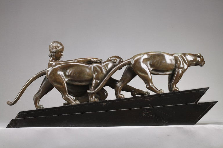 Alexandre Ouline, Woman with Panthers For Sale 7