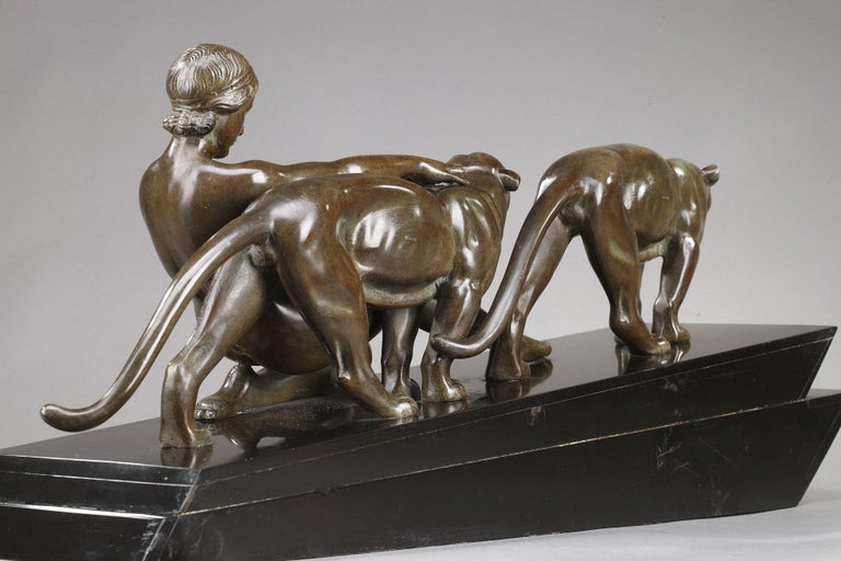Alexandre Ouline, Woman with Panthers For Sale 9