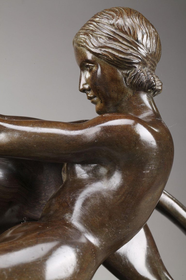 Alexandre Ouline, Woman with Panthers In Good Condition For Sale In Paris, FR