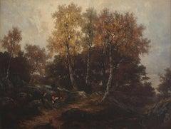 Gorge aux loups, Forêt de Fontainebleau, 1871