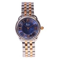Alexandre Renoir Mother of Pearls Stainless Steel Link Strap Watch