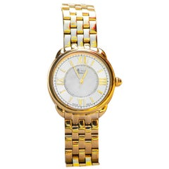 Alexandre Renoir Stainless Steel and Mother of Pearl Watch