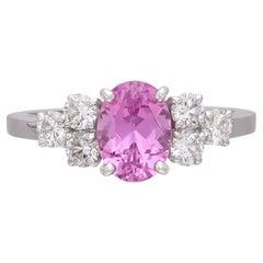 Alexandre Reza No Heat 1.57-Ct Pink Sapphire Ring, French